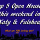 Top 5 Open Houses This Weekend